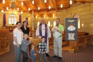 Alexis Renae Schneeberger Baptism 3.25.18