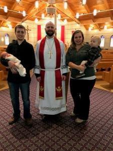Grace Suzanne Buchholz Baptism 10.29.17