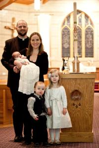 Jonah August Rogness Baptism 1.6.18