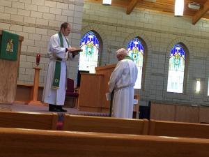 Pastor Lange Recogintion of Faithful Service